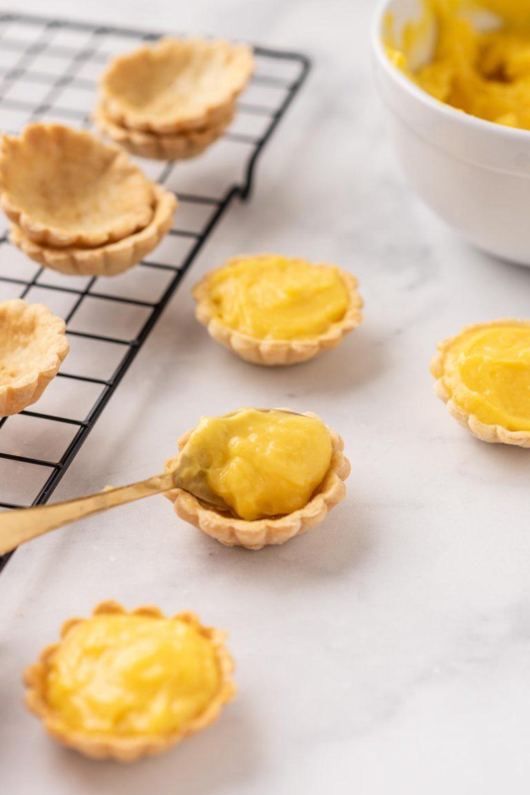 Mini Lemon Curd Tarts 2