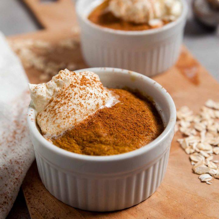 Pumpkin Spice Latte Baked Oatmeal