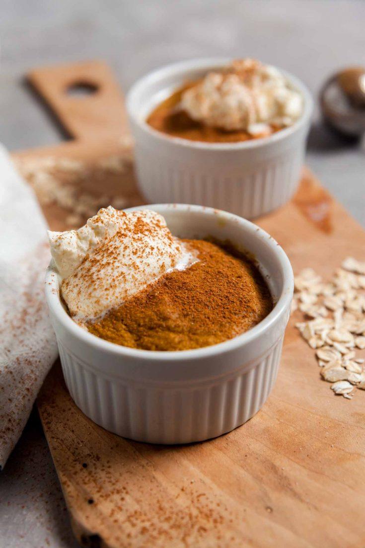 5-minute Pumpkin Spice Latte Baked Oatmeal 5