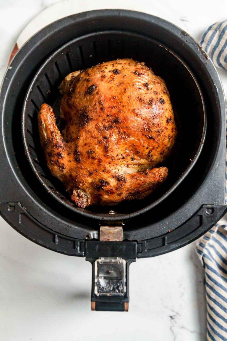 Air Fryer Rotisserie Chicken 2