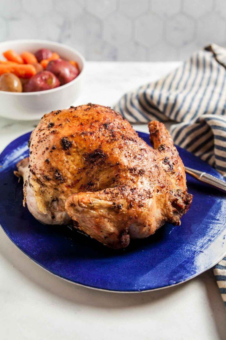 Air Fryer Rotisserie Chicken 4